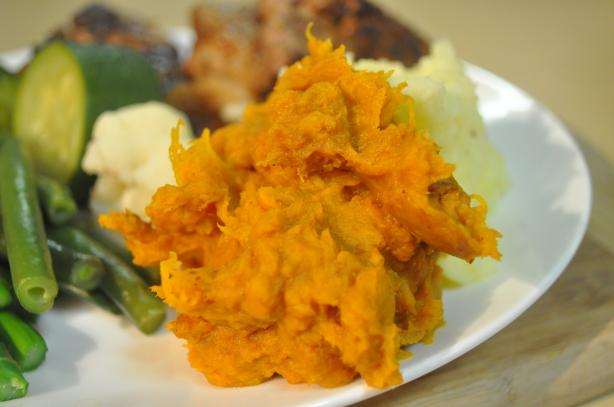 Sweet Roasted Pumpkin Mash With Holiday Flavours