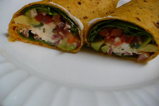 Mom's Veggie Wrap