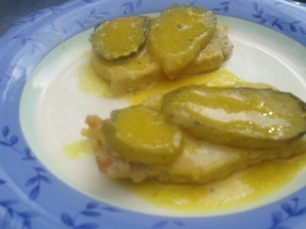 Dill Pickle Pork Chops