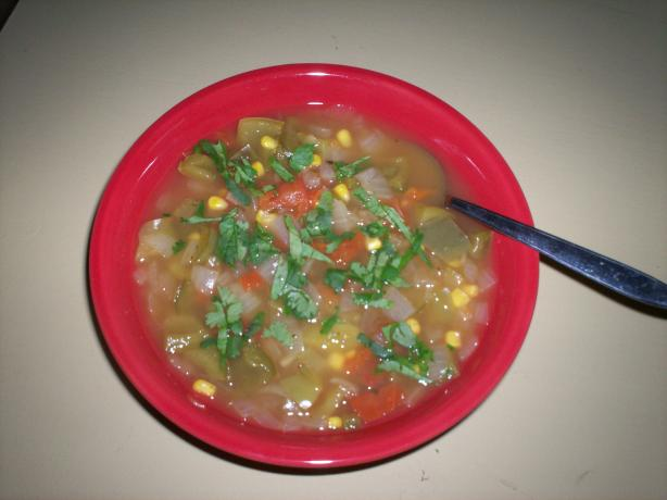 Mexican-Style Chicken Soup