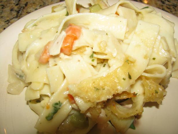 Chicken Noodle Souperole