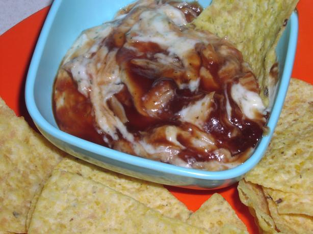 BBQ Chicken Ranch Dip