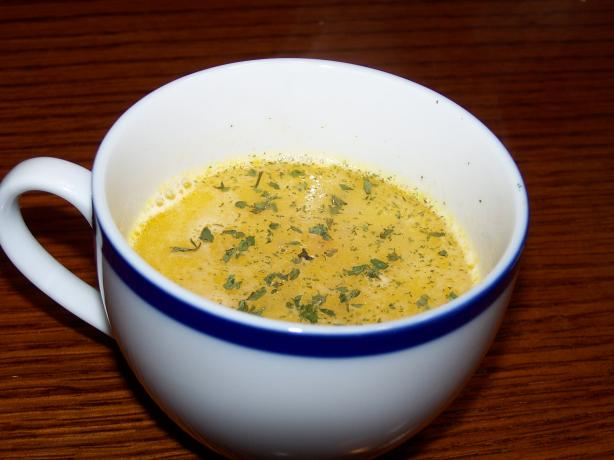 Frugal Gourmet's Beer and Cheese Soup