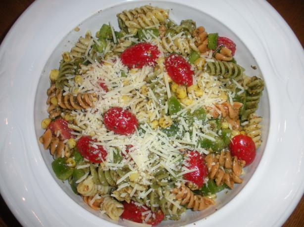 Cold Pesto Pasta Salad
