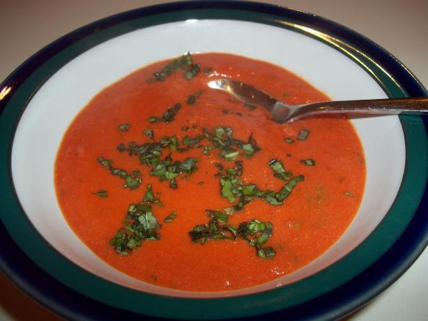 Tomato Cream With Herbs (Soup)