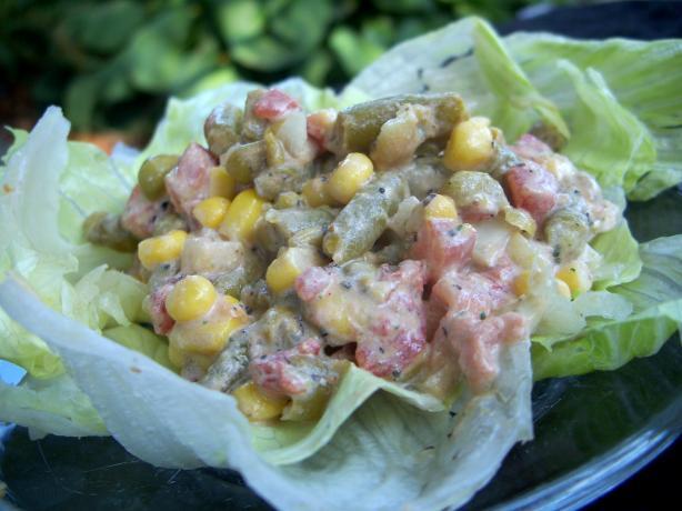 Succulent Veggie Supreme Salad