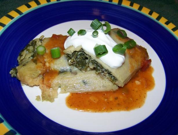Spinach and Mushroom Tamale Filling