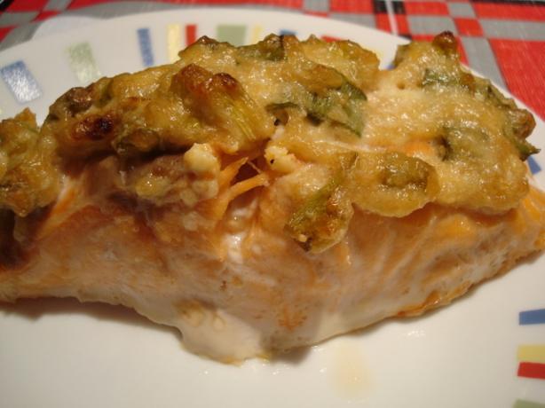 Parmesan Baked Salmon