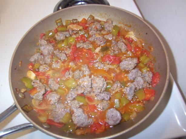 Venison Sausage Creole