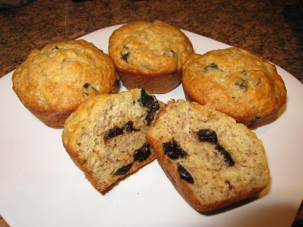 Banana Prune Muffins