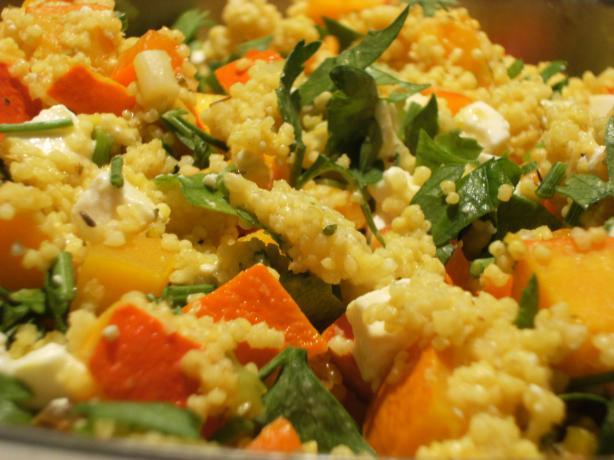 Spicy Millet Pumpkin Salad