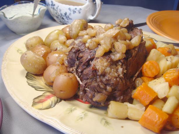 Vegetable & Gravy Pot Roast