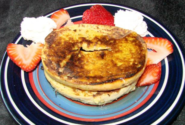 Amber's French Bagels (French Toast)