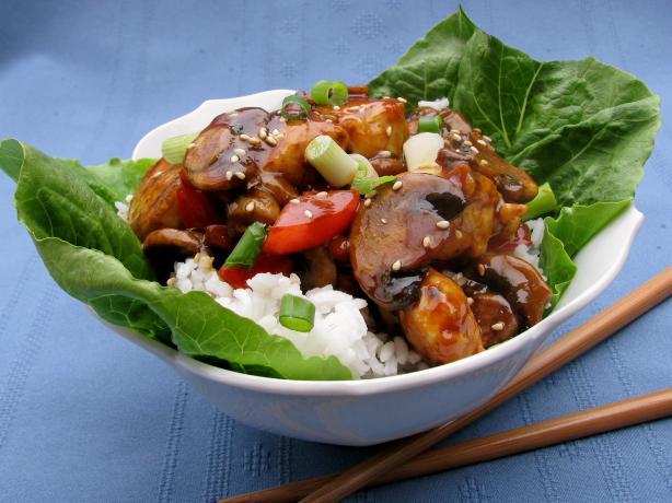 Hoisin Chicken Rice Bowls