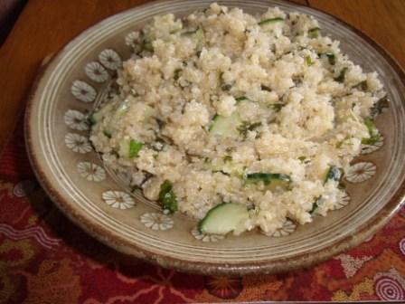 Roger Mooking's Quinoa Salad