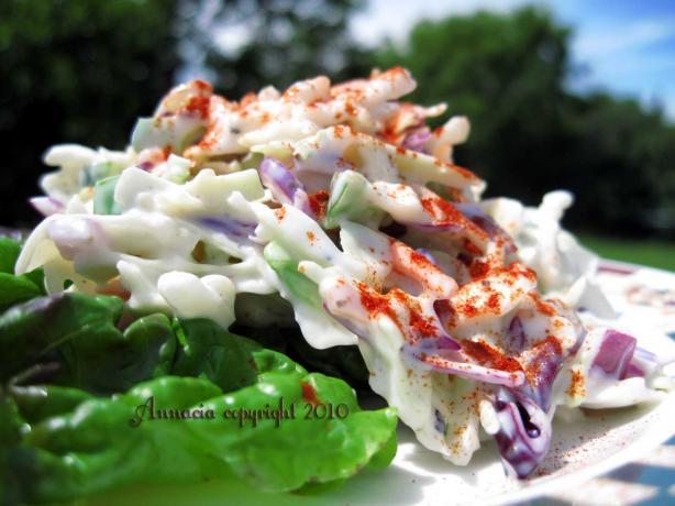 Littlemafia's Hungarian Coleslaw
