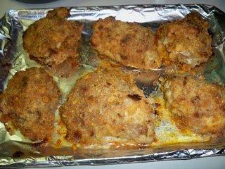 Unfried Chicken Thighs