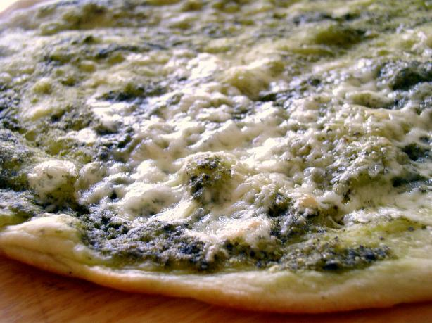 Double Pesto Pizza