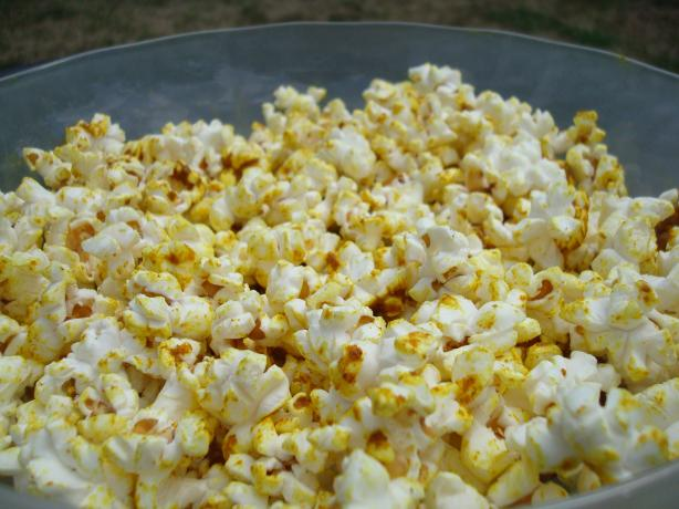Curried Salt Popcorn