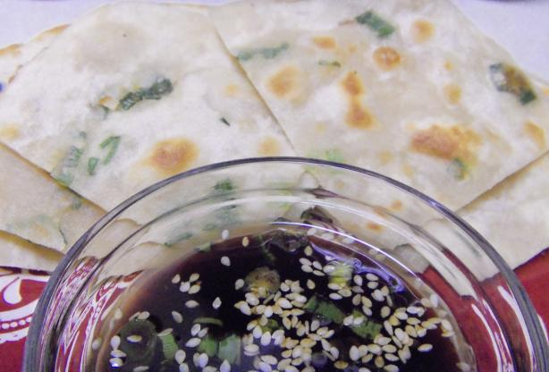 Asian-Style Scallion Pancakes