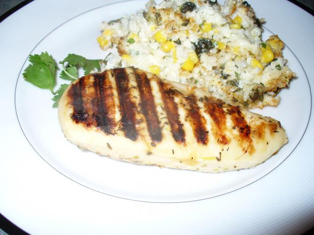 Lime-Zested Grilled Chicken