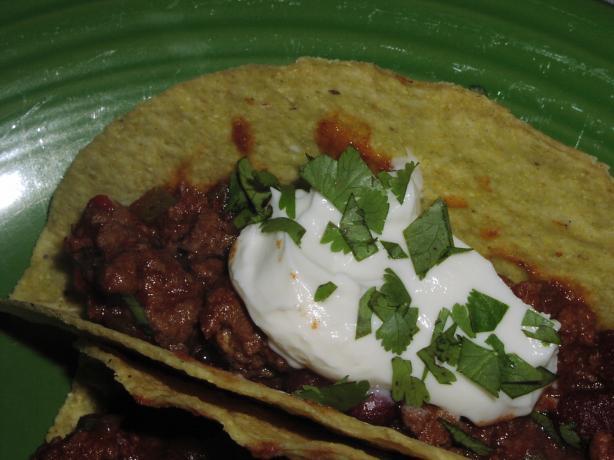 Ww Chili Beef Tacos