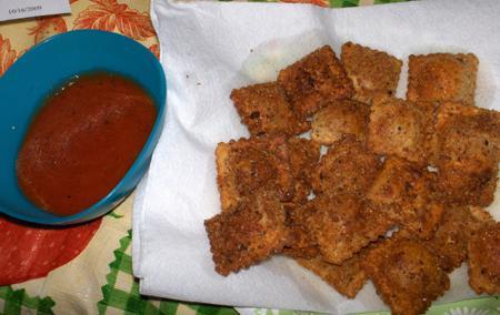 Rachel's Fried Ravioli