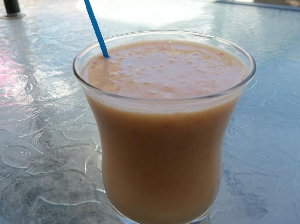 Apricot Deluxe Smoothie