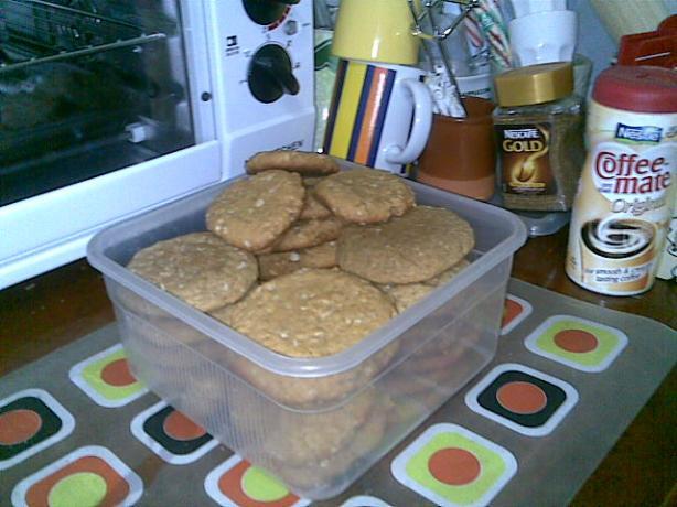 Crispy Oatmeal Cookies, Petit-Fort