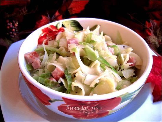 Littlemafia's Transylvanian Cabbage & Noodles