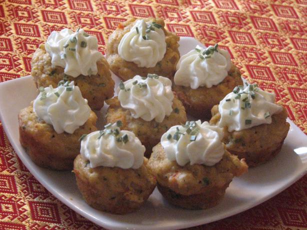 Creole Crab Mini Cupcakes