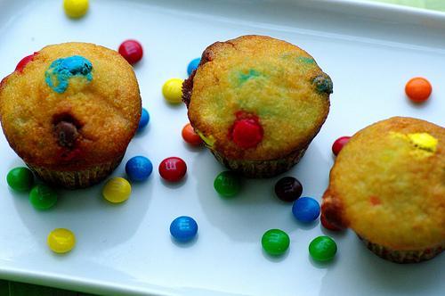 Mini Morsel Cupcakes