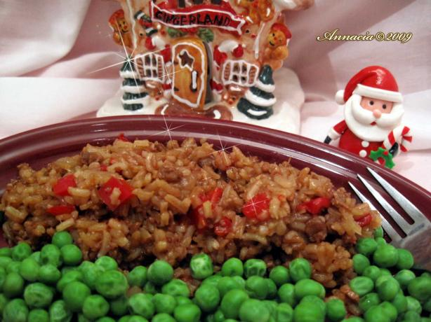 Hamburger Pilaf