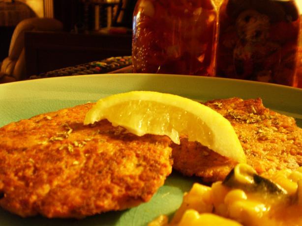 Crabmeat or Salmon Patties