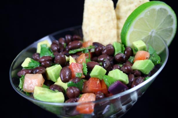 Fresh Cilantro Bean Salsa