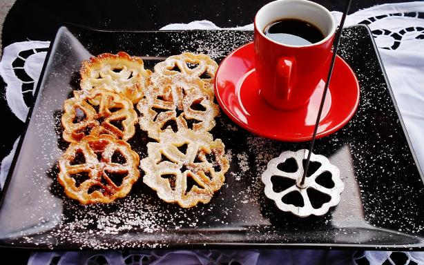 Rosette Cookies/Swedish Rosettes