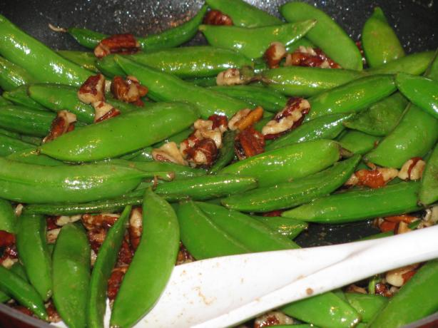 Snap Peas in Brown Butter