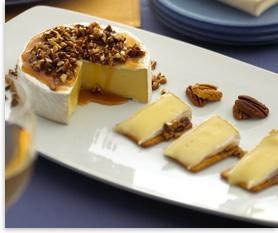 Alouette Pecan Caramel Brie Recipe