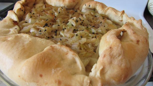 Transylvanian Cabbage Pie