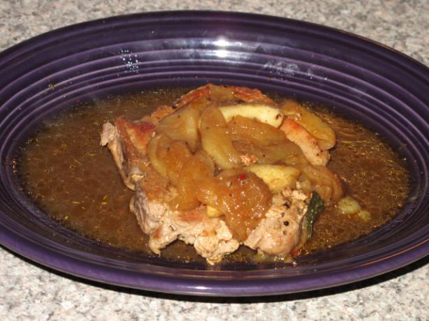 Apple Sage Pork