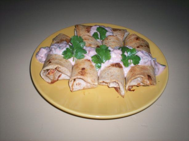 Baked Chimichangas