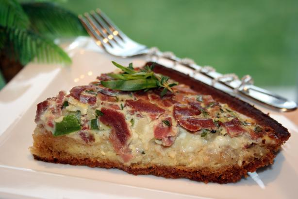 Tarragon and Thyme Quiche