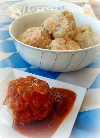 Bavarian Semmel Knoedel (Bread Dumplings)