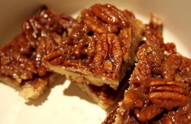 Pecan and Honey Bars