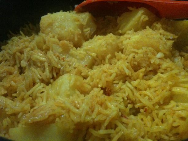 Tahiri(Aloo Walay Rice)