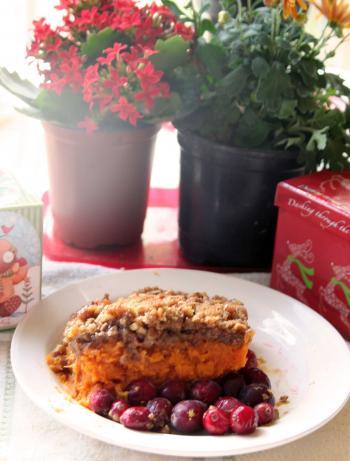 Heavenly Sweet Potato Casserole from Ruth's Chris Steak House