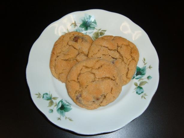 Nickey's Peanut Butter-Raisin Cookies