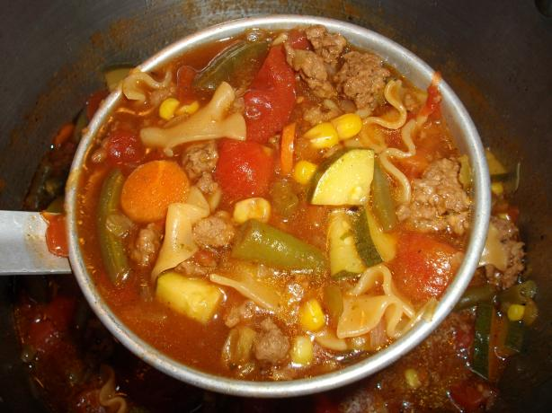 Zesty Italian Hamburger Helper Soup