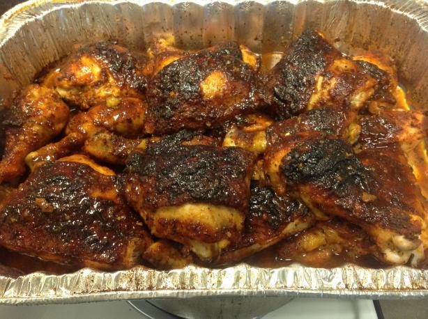 Kasia's Sweet Cajun Chicken