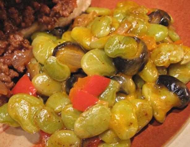 Southwest Lima Beans